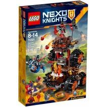 70321 Nexo Knights Generaal Magmars belegeringsmachine