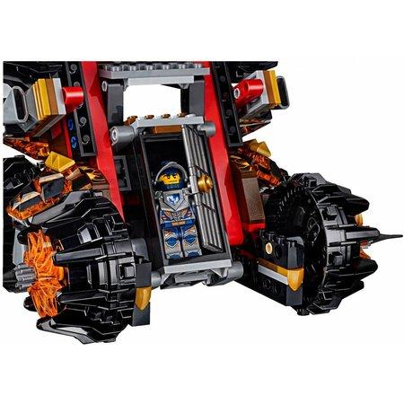 LEGO 70321 Nexo Knights Generaal Magmars belegeringsmachine
