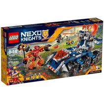 70322 Nexo Knights Axls torentransport