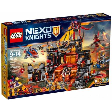 LEGO 70323 Nexo Knights JestroÌ´åÇs vulkaanbasis