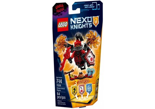 70338 Nexo Knights Ultimate Generaal Magmar