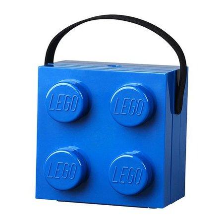 LEGO Specials Lunchkoffer vierkant , kleur blauw