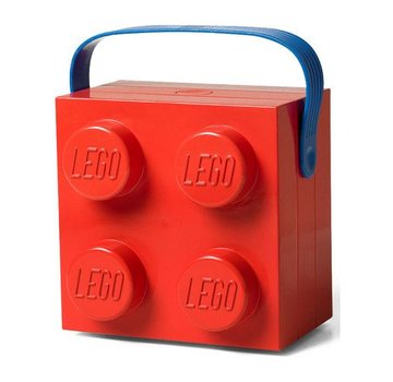 LEGO Specials Lunchkoffer vierkant , kleur rood