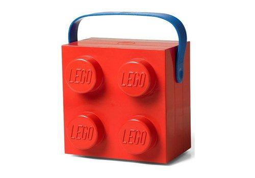 Specials Lunchkoffer vierkant , kleur rood