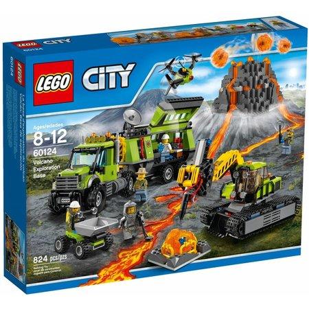LEGO 60124 City Vulkaan Onderzoeksbasis
