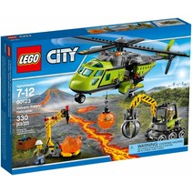 60123 City Vulkaan Bevoorradingshelicopter