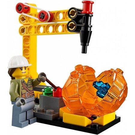 LEGO 60123 City Vulkaan Bevoorradingshelicopter