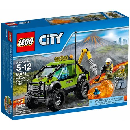 LEGO 60121 City Vulkaan Onderzoekstruck