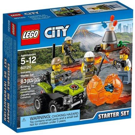 LEGO 60120 City Vulkaan Starterset