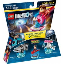 71201 Dimensions Back to the Future Level Pack