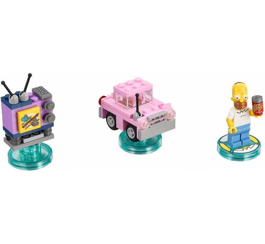 71202 Dimensions The Simpsons Level Pack