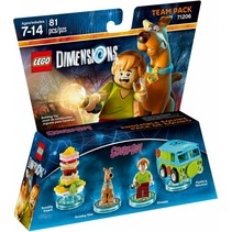 71206 Dimensions Scooby-Doo Team Pack