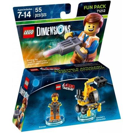 LEGO 71212 Dimensions Emmet Fun Pack