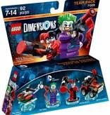 LEGO 71229 Dimensions Joker and Harley Quinn Team Pack