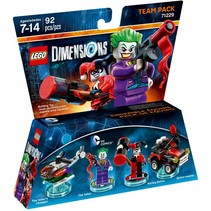 71229 Dimensions Joker and Harley Quinn Team Pack