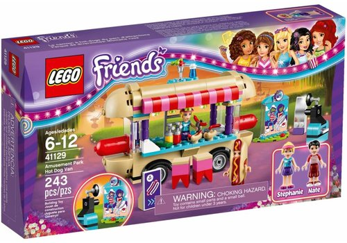 41129 Friends Hotdog-wagen