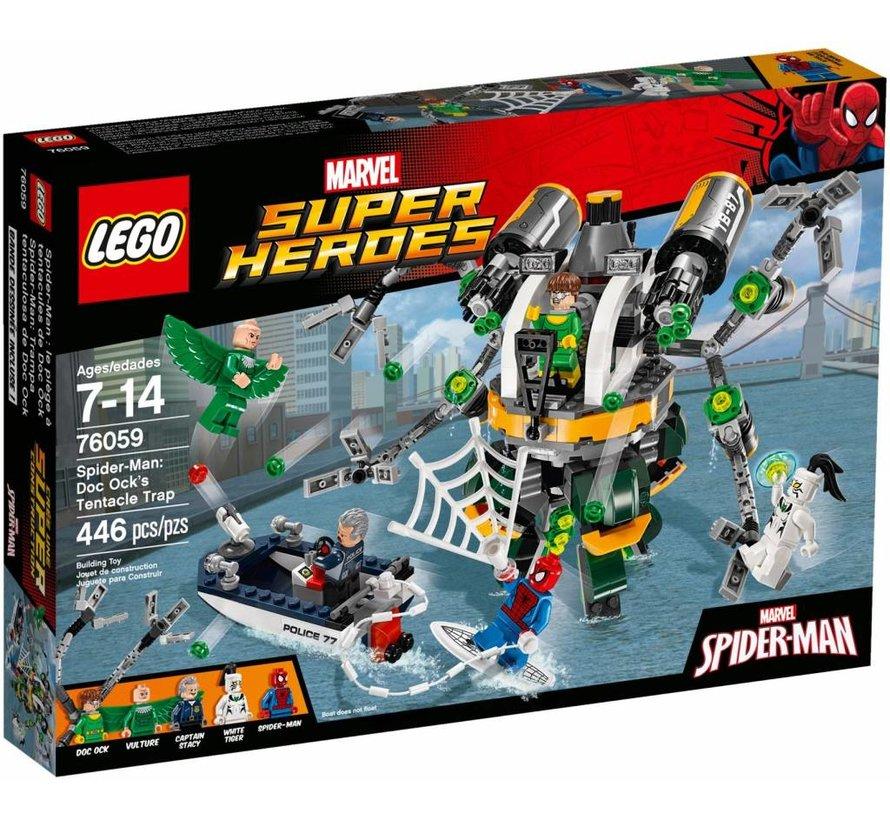 76059 Super Heroes Spider-Man: Doc Ock's tentakel-valstrik