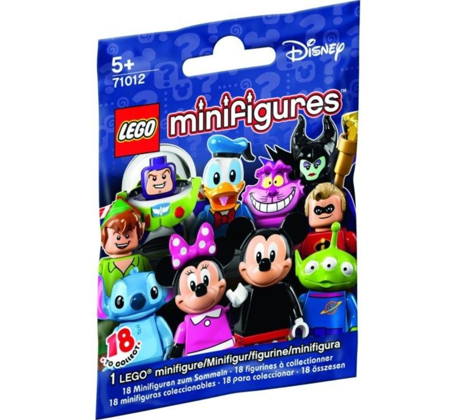 71012-14: Minifiguren Disney Syndrome