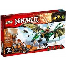 70593 Ninjago De groene NRG draak