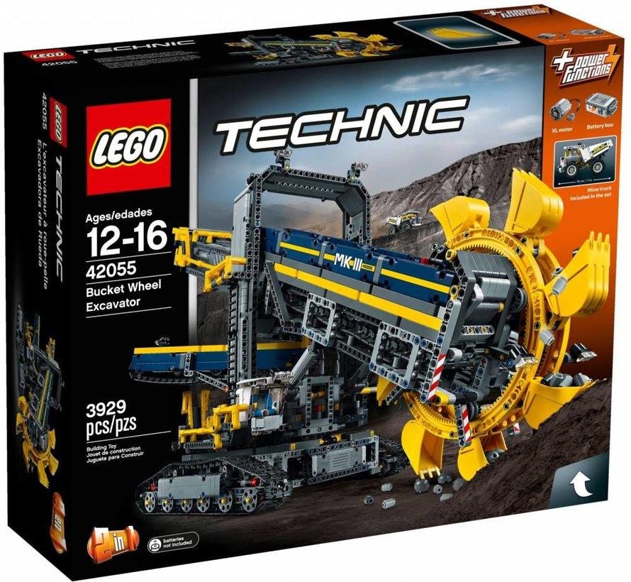 42055 Technic Emmerwiel graafmachine