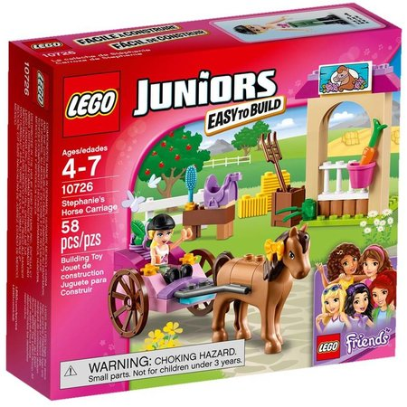 LEGO 10726 Juniors Friends Stephanie's Koets