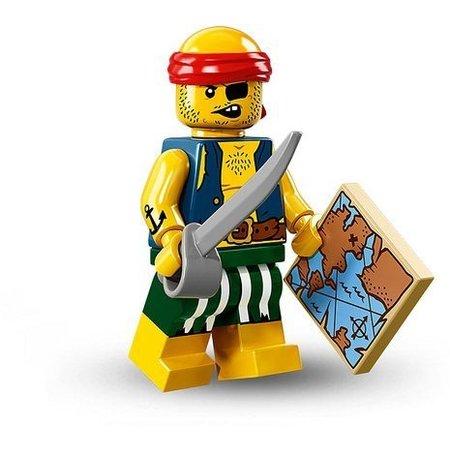 LEGO 71013-09 CMF 16 Scallywag Pirate