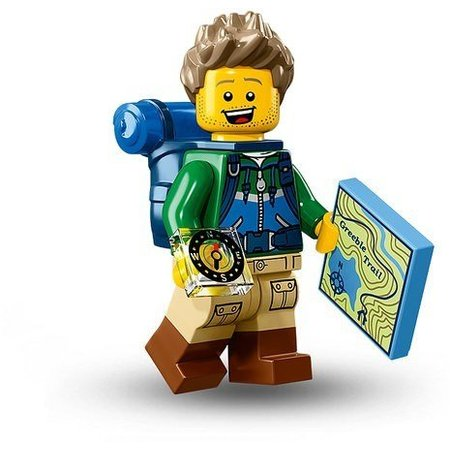 LEGO 71013-06 CMF 16 Hiker