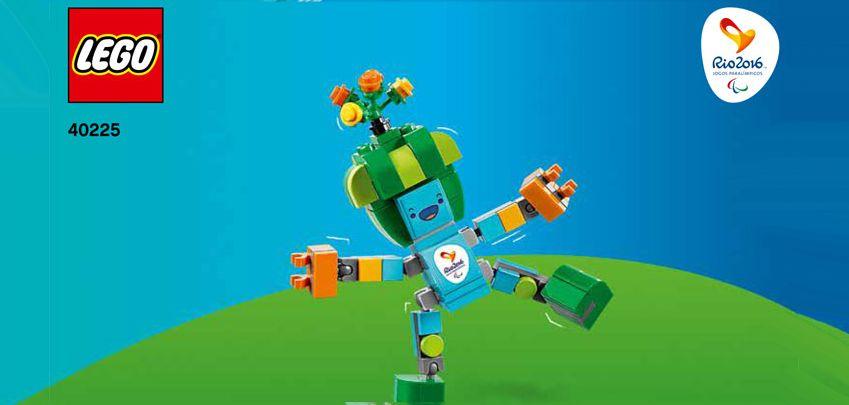 Rio Mascottes in LEGO