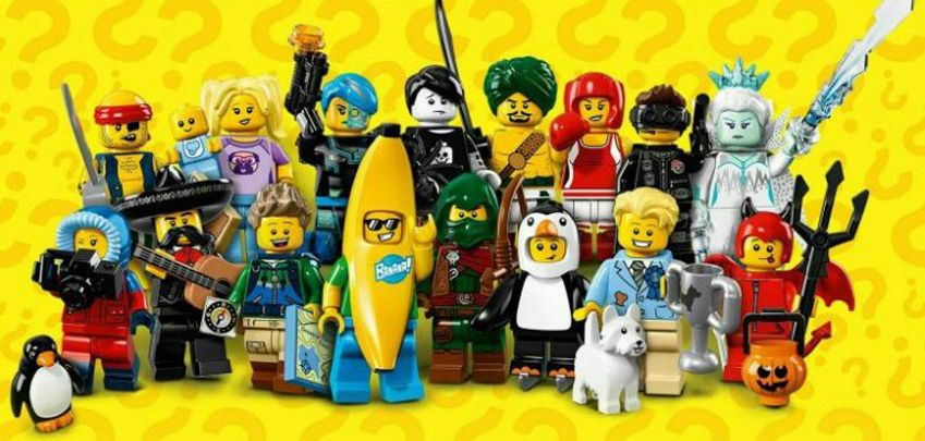 Collectible MiniFigs Serie 16