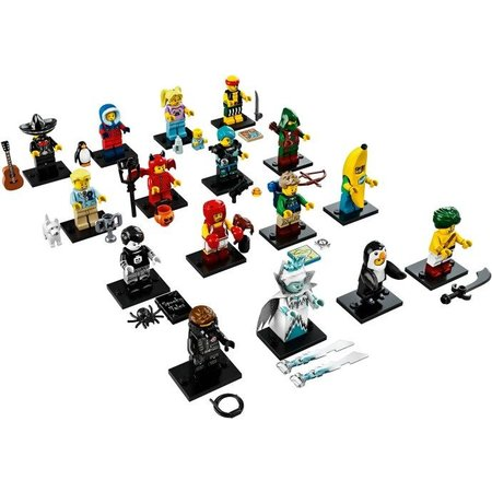 LEGO 71013 - Complete serie Minifiguren serie 16