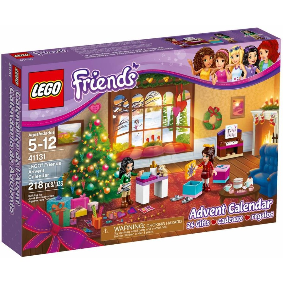 41131 Friends Adventkalender 2016