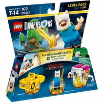 71245 Dimensions Adventure Time Level Pack