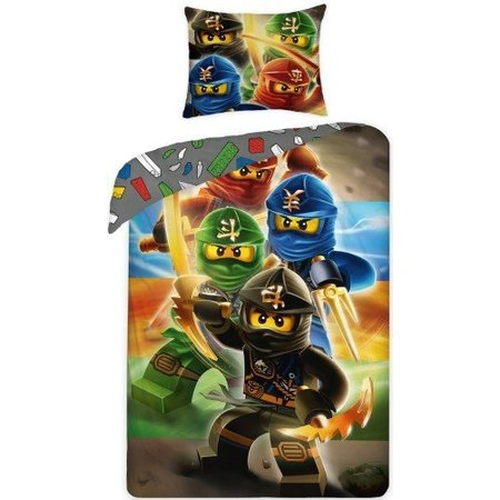 LEGO Dekbedovertrek Ninjago (AG)