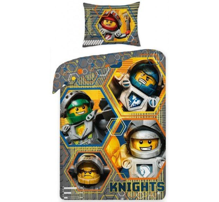 Dekbedovertrek Nexo Knights  Hero Knights