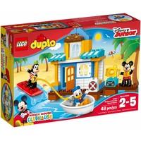 10827 Duplo Strandhuis Mickey en Friends