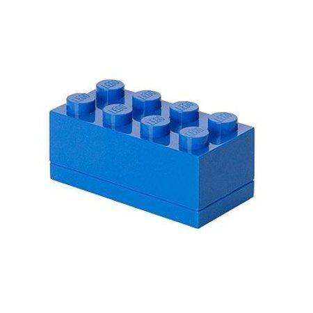 LEGO Box Brick 8 mini blauw