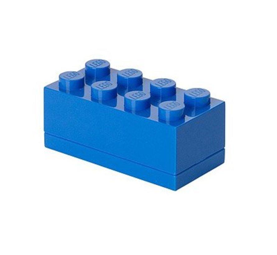 Box Brick 8 mini blauw