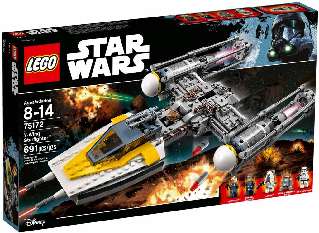 75172 Star Wars  Y-Wing Starfighter