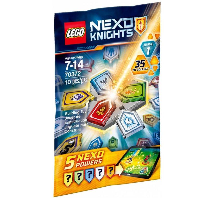 70372 Nexo Knights NEXO Krachten Combiset Wave  1