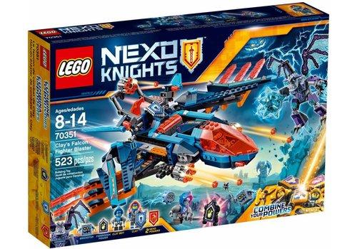 70351 Nexo Knights Clay's Falcon Gevechtsblaster