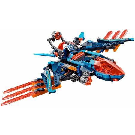 LEGO 70351 Nexo Knights Clay's Falcon Gevechtsblaster