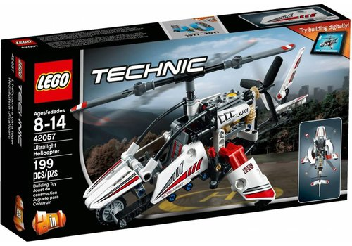 42057 Technic Ultralight helikopter