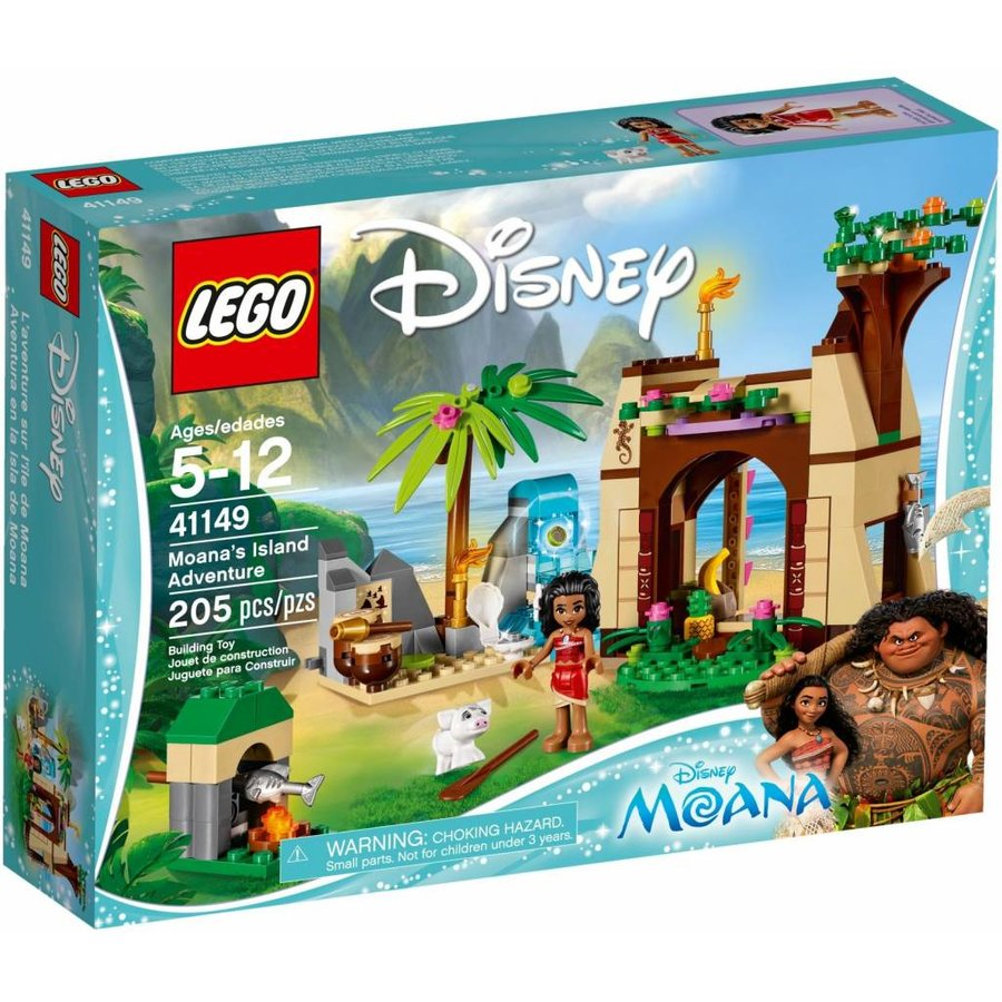 41149 Disney Princess  Vaiana's Eilandavontuur