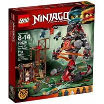 70626 Ninjago De komst van de Iron Doom