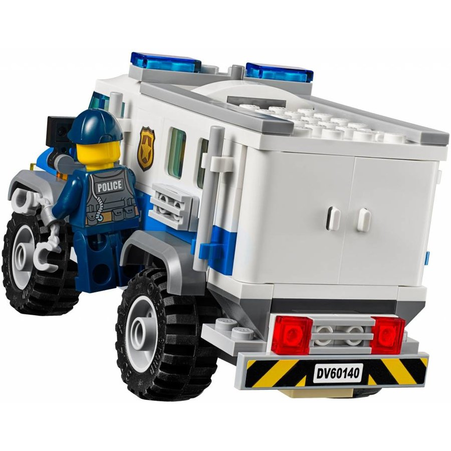 60140 City Bulldozer inbraak