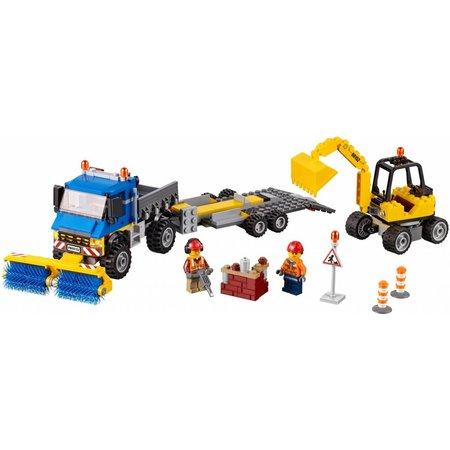 LEGO 60152 City Veeg- en graafmachine
