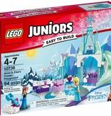 LEGO 10736 Juniors Anna en Elsa's Bevroren Speeltuin
