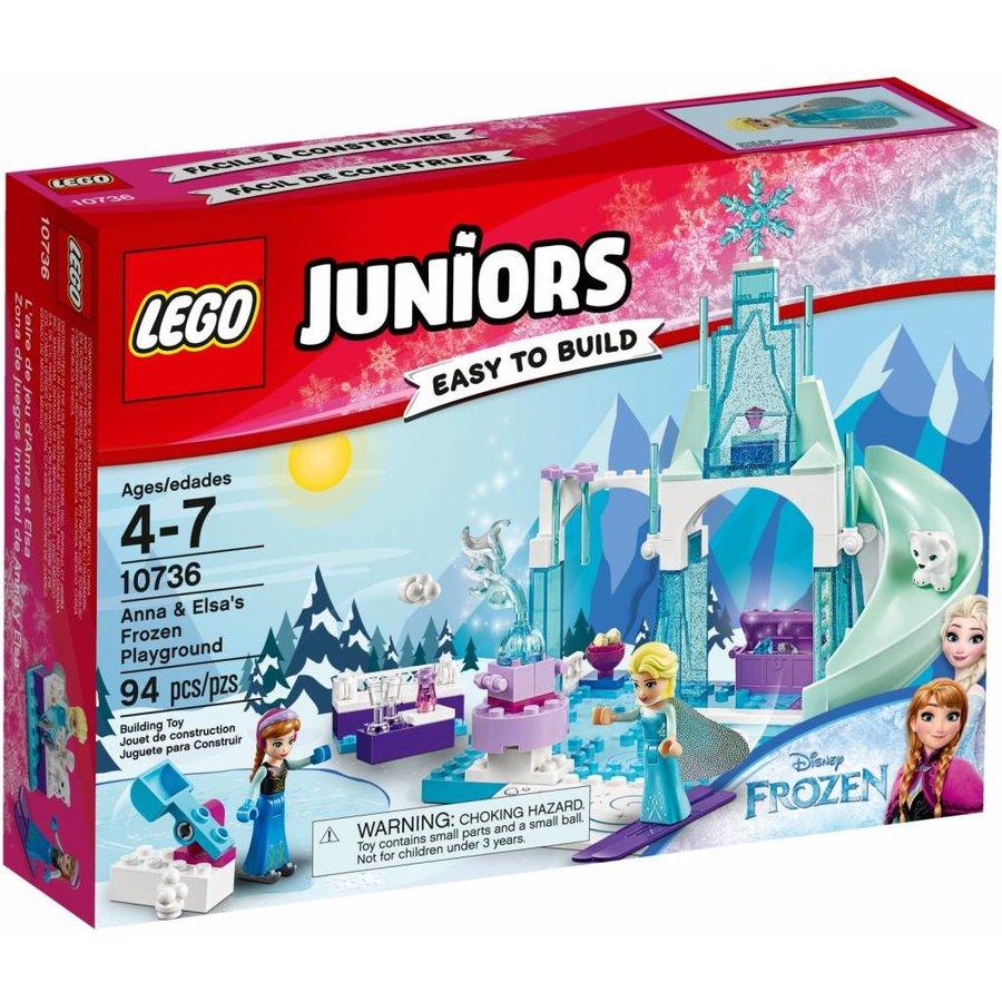 10736 Juniors Anna en Elsa's Bevroren Speeltuin