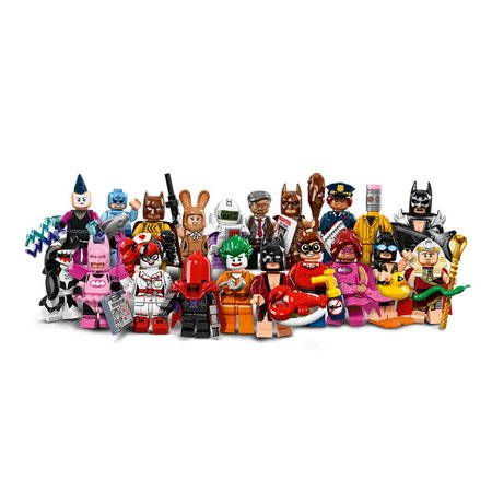 LEGO 71017 The Batman Movie Minifigures (complete serie)