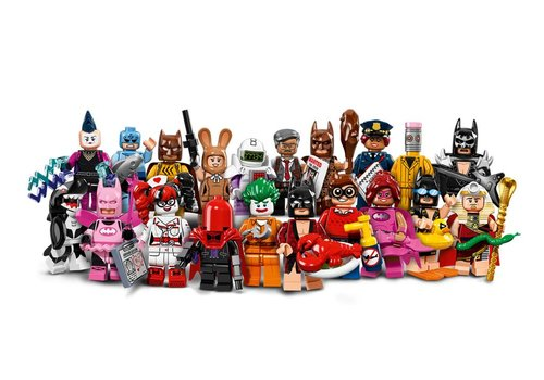 71017 The Batman Movie Minifigures (complete serie)